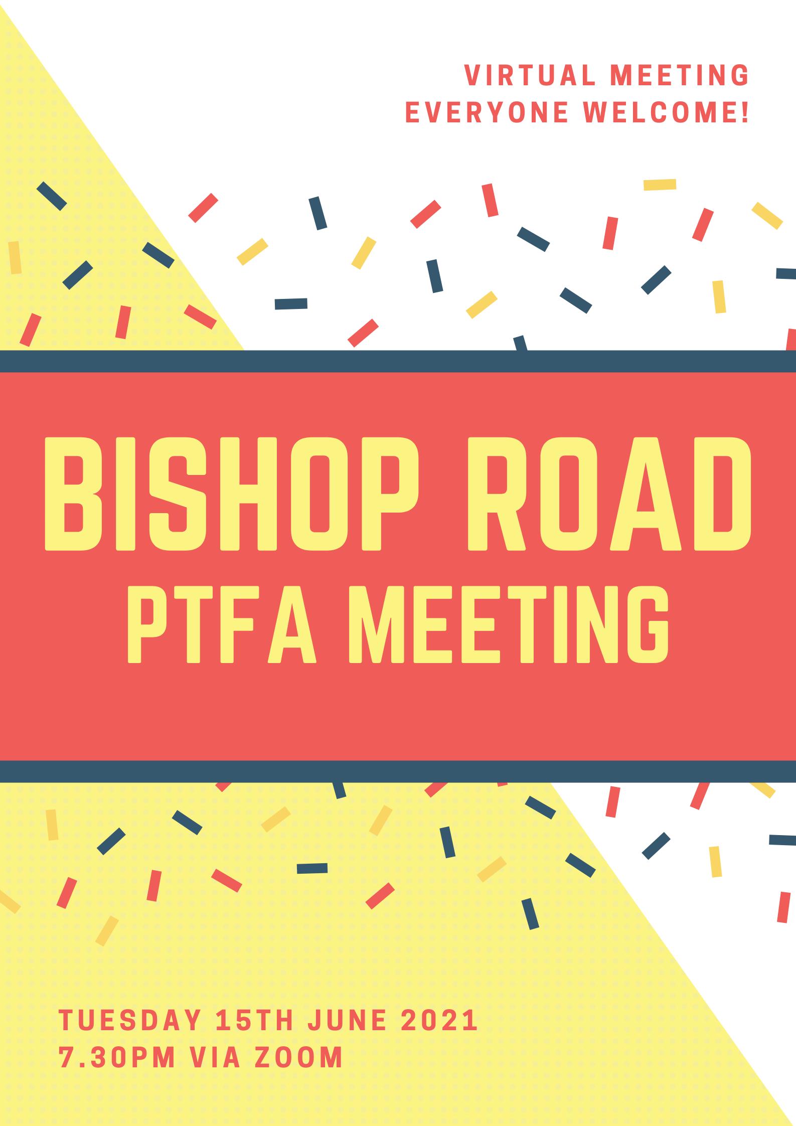 PTFA meeting June 2021